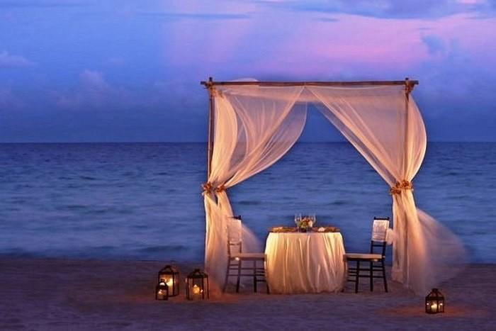 организация романтического ужина киев